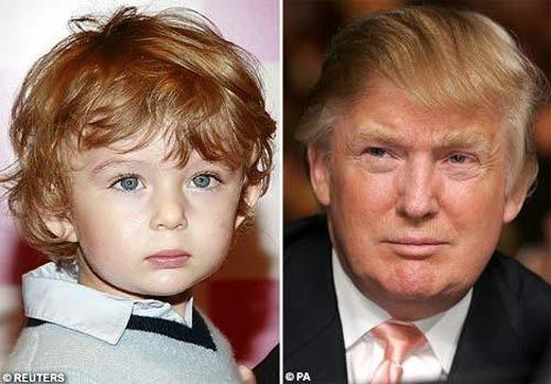 """Phong cách chuẩn """"soái ca nhí"""" của cậu út nhà Trump - 2"""