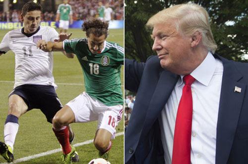 """Trump làm Tổng thống, trận Mỹ - Mexico bỗng hóa """"đại chiến - 3"""