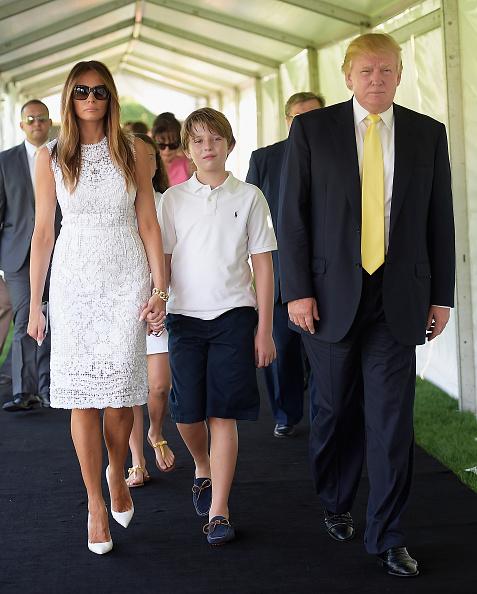 Cậu út nhà Donald Trump mới 10 tuổi đã ra dáng soái ca - 3
