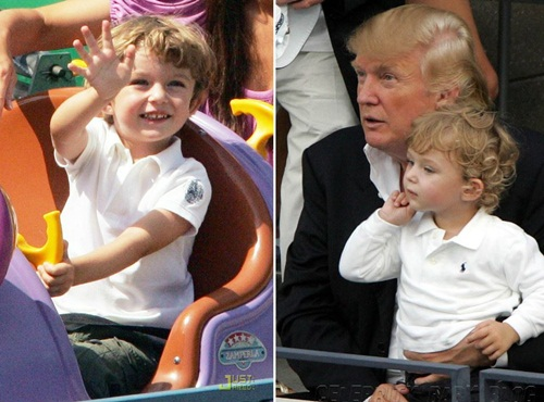 Cậu út nhà Donald Trump mới 10 tuổi đã ra dáng soái ca - 6