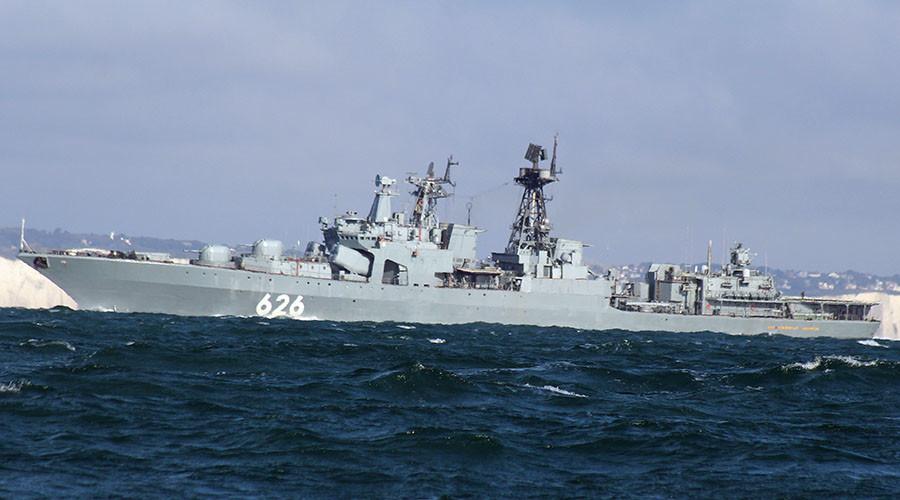 Chiến hạm Nga truy đuổi tàu ngầm Hà Lan - 1
