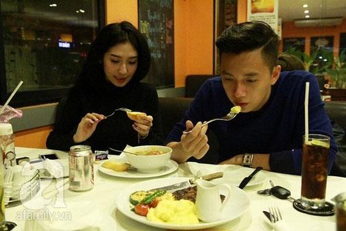 """Cùng kiếm tiền """"khủng"""" nhưng Noo và Kiến Huy khác xa trong ăn uống - 6"""