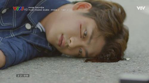 """Khán giả sốc vì """"bạn trai Nhã Phương"""" bị tai nạn trong phim - 2"""