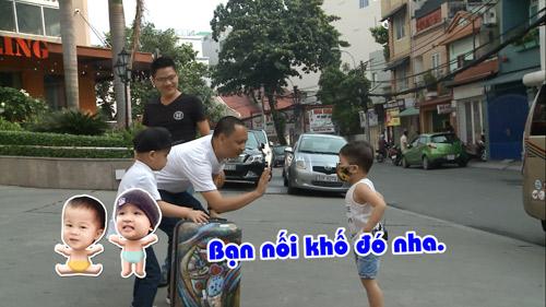 Hai ông bố Nguyễn Hải Phong – Vũ Minh Tâm đối đầu trên truyền hình thực tế - 1