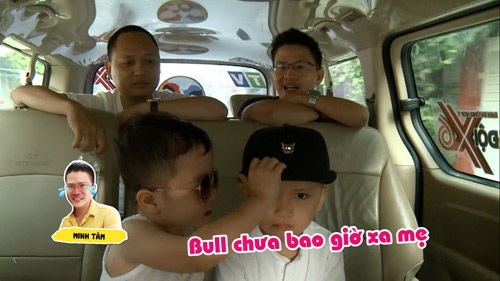 Hai ông bố Nguyễn Hải Phong – Vũ Minh Tâm đối đầu trên truyền hình thực tế - 3