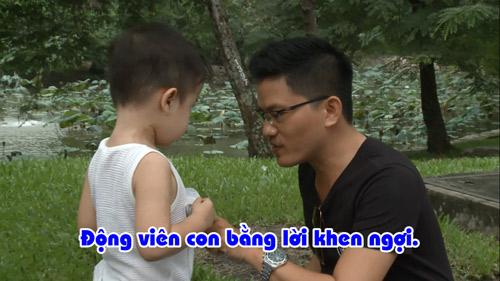 Hai ông bố Nguyễn Hải Phong – Vũ Minh Tâm đối đầu trên truyền hình thực tế - 6