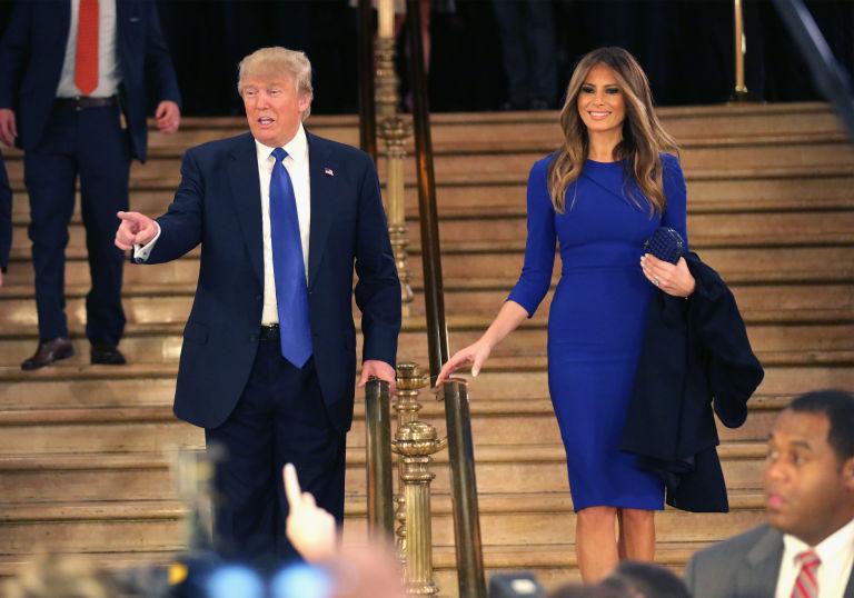 Cán mốc 70, Donald Trump vẫn quá phong độ bên vợ chân dài - 2