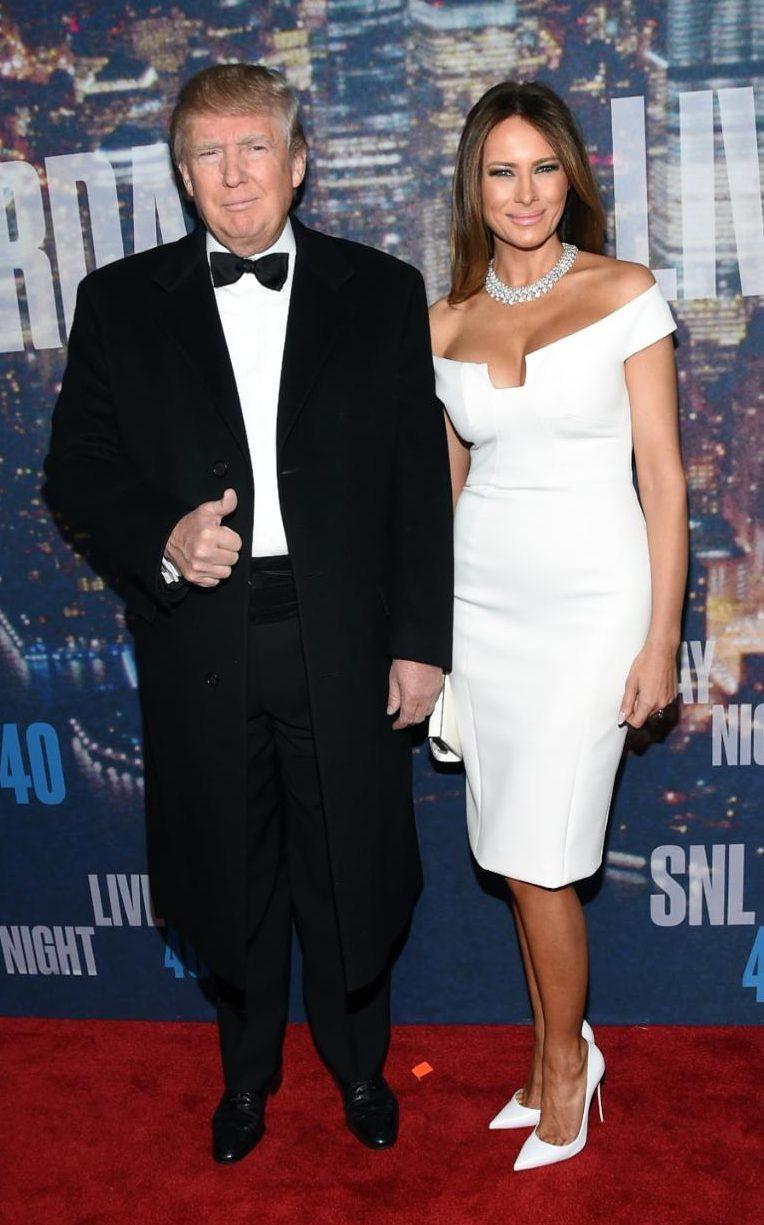 Cán mốc 70, Donald Trump vẫn quá phong độ bên vợ chân dài - 3