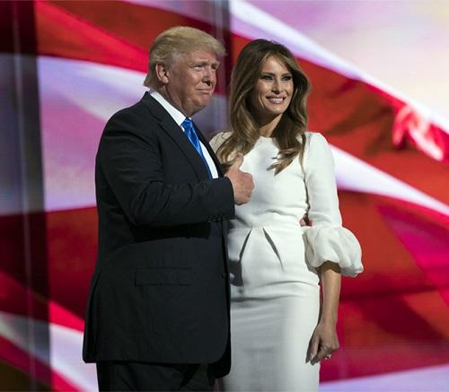 Cán mốc 70, Donald Trump vẫn quá phong độ bên vợ chân dài - 7