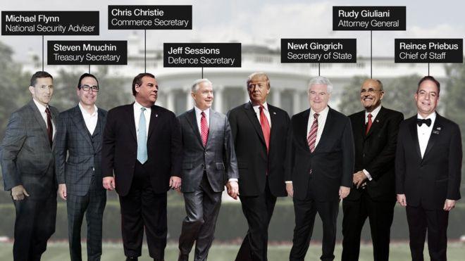 Hé lộ 7 nhân vật quyền lực nhất trong bộ máy của Trump - 1