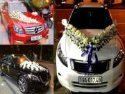 Tin tức ô tô - Diện kiến dàn xe sang đón dâu tại Phú Thọ