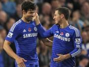 Bóng đá - Chelsea nhận liền 2 tin dữ: Costa, Hazard chấn thương
