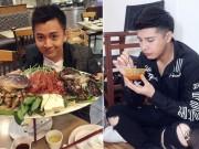 """Đời sống Showbiz - Cùng kiếm tiền """"khủng"""" nhưng Noo và Kiến Huy khác xa trong ăn uống"""