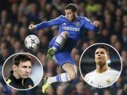 """Bóng đá - Chelsea: Hazard bùng nổ nhờ được """"yêu"""" như Messi, CR7"""