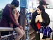 Ai cũng phải nhìn vì vợ chồng Trương Quỳnh Anh quá bạo nơi công cộng
