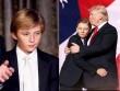 """Phong cách chuẩn """"soái ca nhí"""" của cậu út nhà Trump"""