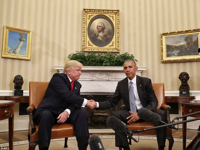 Cuộc gặp lịch sử 90 phút giữa Trump và Obama ở Nhà Trắng - 2