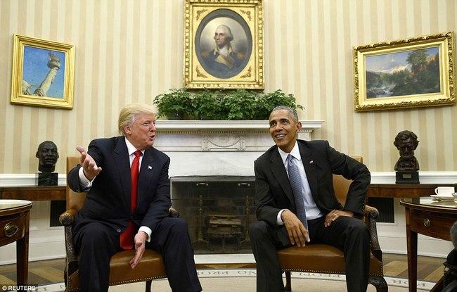 Cuộc gặp lịch sử 90 phút giữa Trump và Obama ở Nhà Trắng - 4