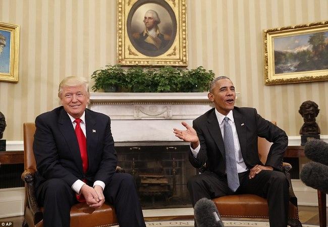 Cuộc gặp lịch sử 90 phút giữa Trump và Obama ở Nhà Trắng - 3