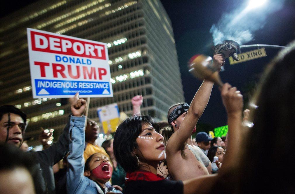 Mỹ: Làn sóng biểu tình chống Trump vẫn chưa dừng lại - 5