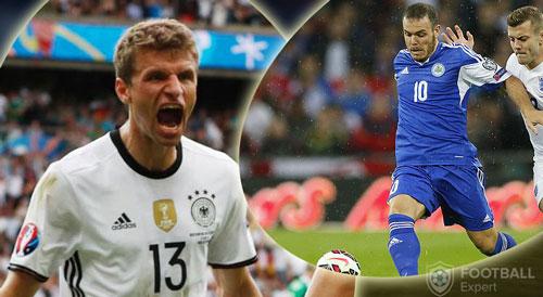 """San Marino – Đức: Dạo chơi với """"người lạ"""" - 1"""