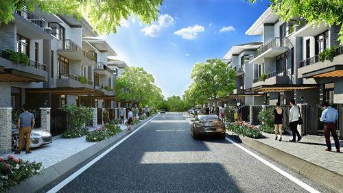 Biệt thự phố vườn Nam Sài Gòn thu hút người mua để ở - 4