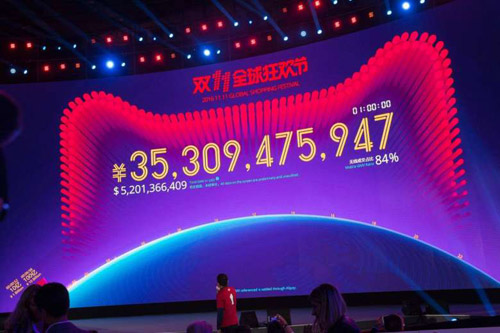 Alibaba kiếm 5 tỷ USD sau 90 phút ngày mua sắm Độc Thân - 1