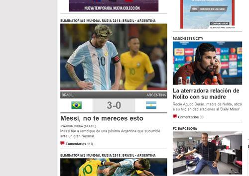 Argentina thua thảm Brazil: Messi bị chỉ trích kịch liệt - 2