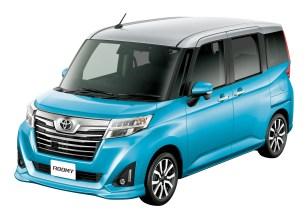 Bộ đôi Toyota Roomy và Tank minivan ra mắt tại Nhật Bản - 1
