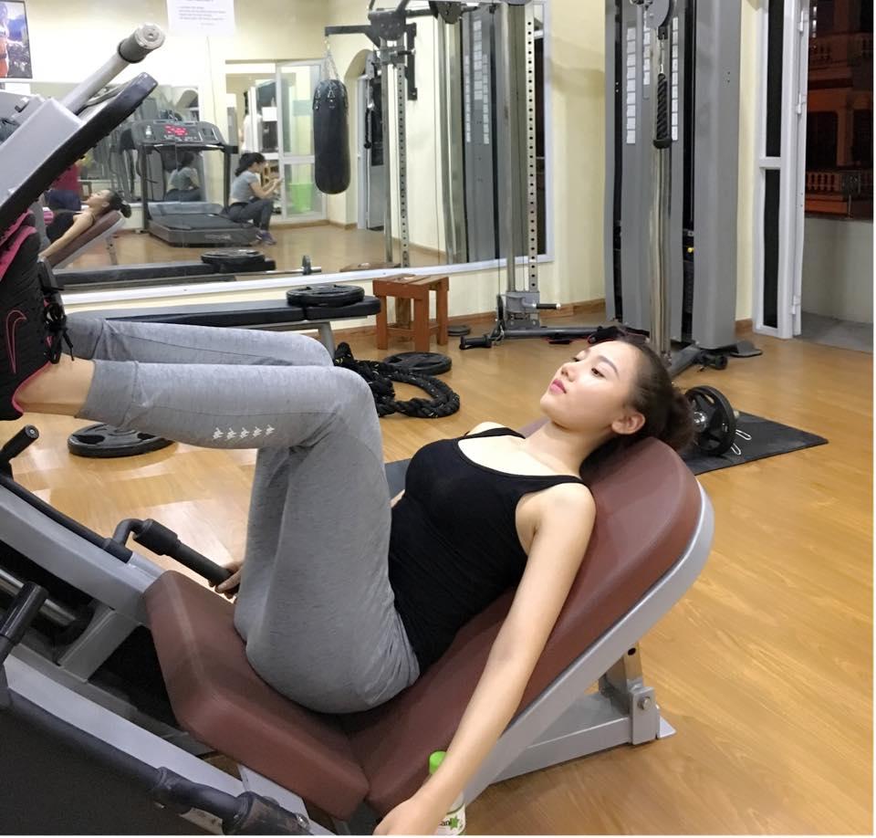 Mỹ nữ thi Hoa hậu Châu Á tích cực tập gym, luyện múa - 3