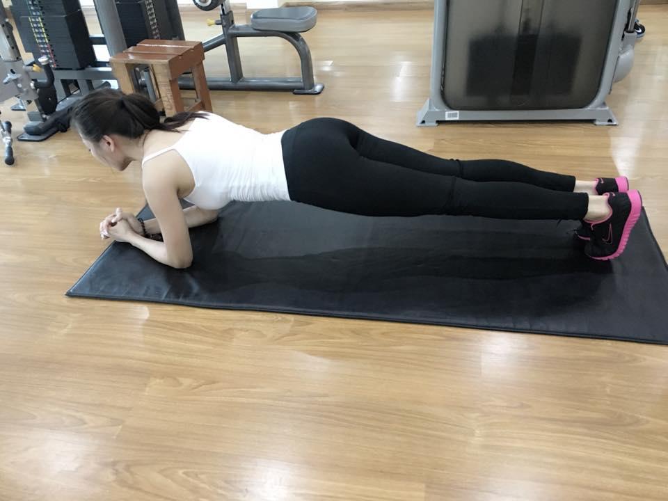 Mỹ nữ thi Hoa hậu Châu Á tích cực tập gym, luyện múa - 4