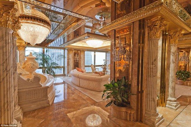 Chiêm ngưỡng siêu căn hộ 2.200 tỉ của tân Tổng thống Mỹ - 1