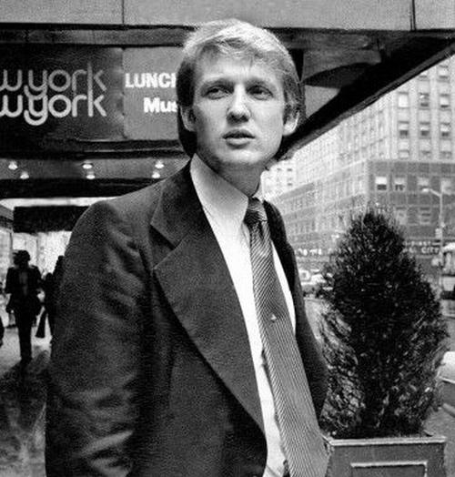 Thời trẻ điển trai, cực nhiều tiền và rất đào hoa của ông Trump - 6
