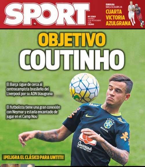 Mê mẩn Coutinho, Barca sẽ phá két vào hè 2017 - 1
