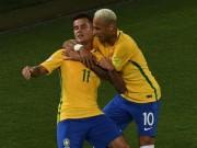 Bóng đá - Brazil - Argentina: Coutinho lập siêu phẩm như ở Liverpool