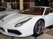 """Tin tức ô tô - Cường """"Đô la"""" đưa đón Hạ Vi bằng siêu xe Ferrari 488GTB độ"""