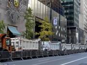 Thế giới - Nơi ở của Trump bỗng dày đặc mật vụ, xe tải bảo vệ