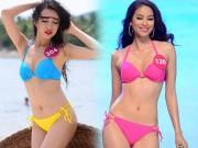 Thời trang - So kè màn thi thố bikini giữa Phạm Hương và Lệ Hằng