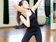 Làm đẹp - Mỹ nữ thi Hoa hậu Châu Á tích cực tập gym, luyện múa