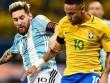 """Clip Brazil đấu Argentina: Ngày Neymar """"che mờ"""" Messi"""