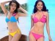So kè màn thi thố bikini giữa Phạm Hương và Lệ Hằng