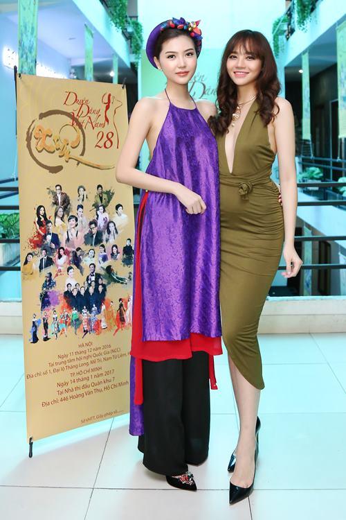 Nữ hoàng sắc đẹp Ngọc Duyên gợi cảm với váy cổ yếm - 5