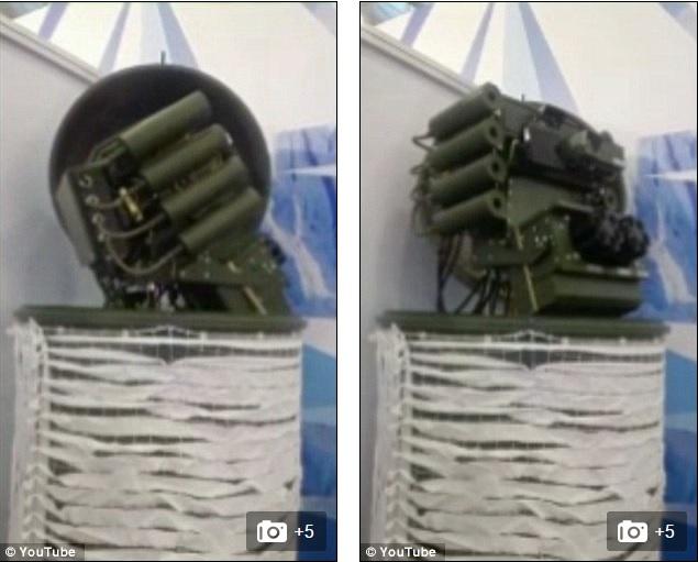 Robot sát thủ Nga có thể tiêu diệt mục tiêu cách 7 km - 2
