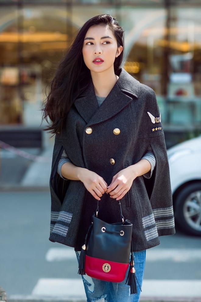 """Hotgirl Helly Tống """"đụng style"""" với chân dài Gigi Hadid - 1"""