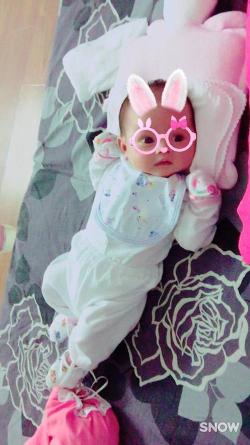 """Ngọt ngào lời """"yêu"""" Hồng Quế dành cho con gái quá xinh 1 tháng tuổi - 2"""