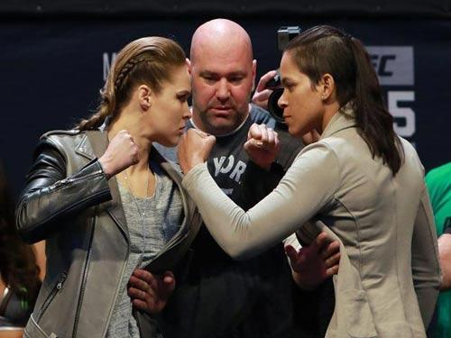 """""""Nữ hoàng UFC"""" Ronda Rousey cực ngầu đột ngột tái xuất - 1"""