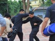 Phim - Diễn viên đóng thế Công Lý bị chém vào tay