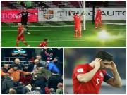 Bóng đá - Vòng loại World Cup: Sao Bayern hứng pháo sáng, CĐV ẩu đả đẫm máu