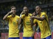 """Bóng đá - Brazil xuất hiện tam tấu mới: Tiếp bước """"bộ ba R"""""""