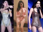 Ca nhạc - MTV - Sở thích đi diễn như đi... bơi của Hương Giang idol